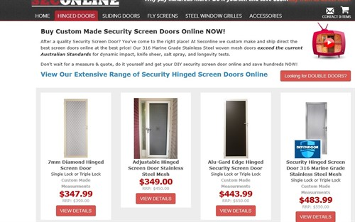 Bunnings vs  K&B  | K&B Security Doors And Screens